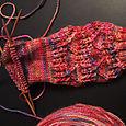 Madeline's pink socks